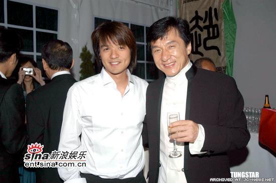 Стивен Фунг и Джеки Чан