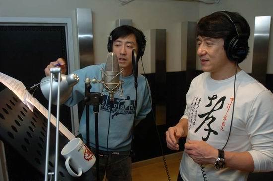 Джеки Чан и Харлем Ю