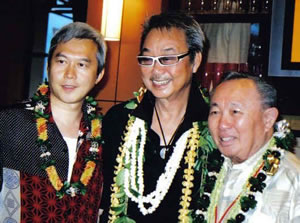 Справа налево: Доктор Цу, Вилли Чан и Солон Со