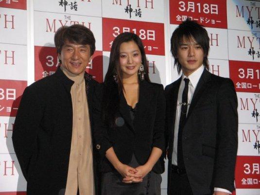 Джеки Чан, Ким Хи Сун и Хидэаки Такизава