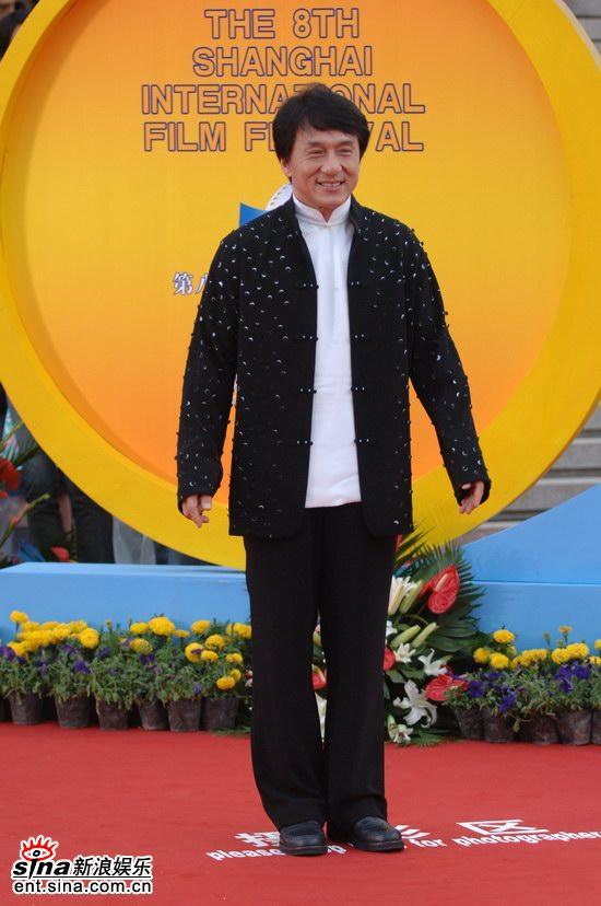 Джеки Чан на 8-м Шанхайском Международном Кинофестивале
